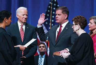 Mayor Walsh Sworn in to Serve Second Term:Promises Opportunity to Every Resident in the City
